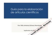 Articulos científicos / Artículos científicos. Características y ejemplos