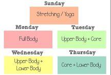 allenamento plan