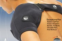 Heat and Ice Shoulder Care for Throwing Athletes / This is a complete shoulder therapy solution. It's a shoulder ice wrap and a shoulder heat wrap all-in-one! Designed for injury specific adjustability and full freedom of movement during usage.shoulder system is the nicest fitting shoulder ice wrap on the market! Unique rotator cuff strap design drives the cold to where you need it. This is a must have for rotator cuff injuries and any shoulder dependent or throwing athlete!  woodbats4sale.com