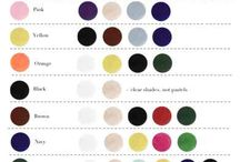 Color matching  chart