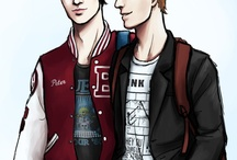 Peter Hale & Chris Argent