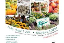 Celebrate Grown on LI Day / Celebrate Grown on Long Island Day at the Suffolk County Farm in Yaphank on Friday August 7, 2015; 10am-2pm. Meet your Long Island farmers, purchase in-season Grown on Long Island produce, activities for kids, educational animal yard, roasted corn, food and wine tastings and the official chef competition, SEAFOOD THROWDOWN with guest judges including, Master Chef Junior Kayla from Long Island. FREE admission. For more information, call 631.727.3777 or visit www.celebrategrownonli.com