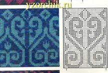 patterns knit