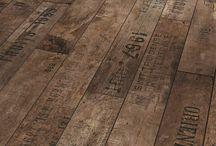 Floor laminated