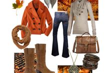 Fall Fashions / by Gina Quentin