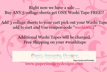 Paper Imagery Designs Sales~ / All of our sales we will pin here!