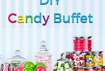 Candy Buffets / A Candy Buffet will add sweetness to any event!
