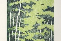 how to art a forest