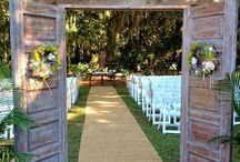 Wedding Doors instead of Gazebo