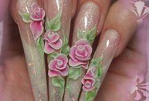nail acrilyc manderlay