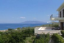 Villa Christina 2 #Peloponnese #Greece #Island / Villa Christina 2 is part of a complex of luxurious villas in Ancient Epidavros, at the area of Gialasi, in a green space of over 10000 m2 with a wonderful view to the Epidavros bay, the islands of Aegena and Agistri and Methana. http://www.mygreek-villa.com/fr/rent-villa-search-2/villa-christina-2