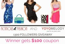 Fictitious Fashion Giveaway to win $100 GV