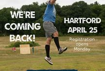 April 25, 2015 - Hartford / Our second annual Grit 'N Wit will be April 25, 2015 in Hartford!