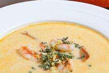 pumpkin and shrimp soup