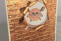 Rinea Copper Foiled Paper