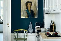 Matching artwork with paint colours / Choosing artwork that enhances your wall colour