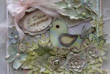 shabby cards / by Wanda Clough