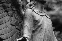 Angels: cemeteries