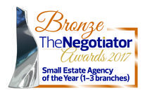 Adam Hayes -  Winner of two Awards at The Negotiator Awards 2017 / We are extremely proud to have won SILVER for London Agency of the Year and BRONZE for Small Estate Agency of the Year