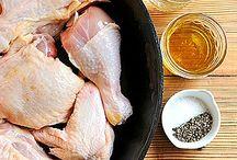 Recepty z kuřete / kuřecí nugety s parmazánem