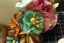 Crafty- Tim Holtz Tattered Florals