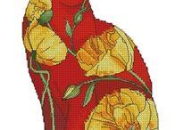 Krzyżykowe patchworki