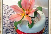 Flores en pasta de azúcar!!!