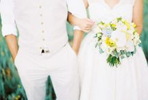 wedding/bride and groom/engagement posing / by Stephanie Maurie Photography