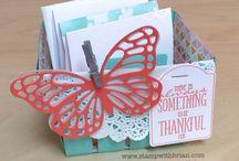 Cards...3-D Berry Baskets / by Doris Amey-Ketcham