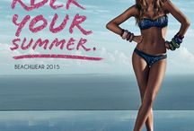 Glam Summer 2015 by Goldenpoint / Discover new beachwear collection 2015 with Federica Nargi model