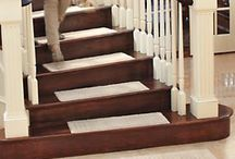 Vista Rugs & Stair Treads / Only at Solutions! Pure cotton comfort in practical, nonslip rugs and stair treads that are machine washable! Bare feet will appreciate the soft, absorbent touch of pure cotton, something a synthetic rug can't match. / by Solutions