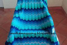 Horgolt takaró / chrochet blanket