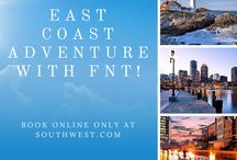 East Coast connections from FNT / Fly nonstop from Flint to Baltimore/Washington where you can easily connect on to great East Coast destinations! Book online ONLY at souhtwest.com!