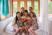 Demoiselles d'honneur pour mariage à la plage / Beach wedding bridesmaids