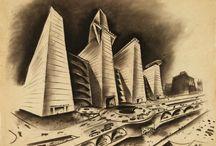 Imaginery Cities / Les villes de demain, imaginées par des artistes et des visionnaires.