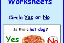 autism worksheets