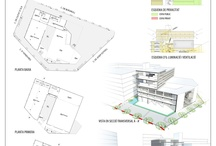 Project Ivanow / Architecture project for a new Cultural Center in Barcelona