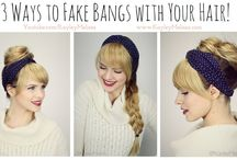 Hair / Acconciature, trecce e mille modi fai da te per i capelli