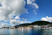 Bergen / Bergen - město v západním Norsku