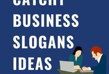 Catchy Business Slogans Ideas