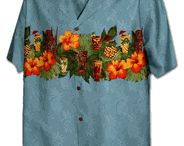 Tropical Drinks Hawaiian Beer / Tropical Drinks, Polynesian Beer, Martini, Cocktails Hawaiian Shirts & Dresses