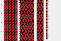 Schéma dutinky - beaded crochet