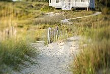 A Little Green Cottage / by the sea / by Jan