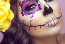 Halloween sminke