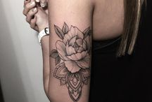 Tattoos For Guys Flower Arm