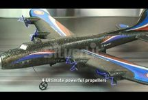 adiografische vliegtuig beschikt over maar liefst vier propellers.