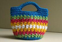 Kötött, horgolt táskák tetszés szerint / Kötött, horgolt táskák ingyenes mintákkal, ahogy mindenki szereti :)