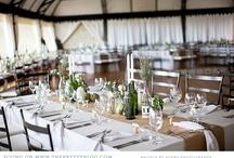 Weddings: Tables & Flowers