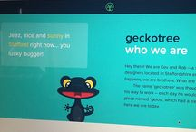 Geckotree Design & Culture / Collection of photos of our work and culture from Dribbble and Instagram.