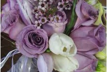 Purple Lavender Wedding Flowers